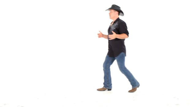 X. How to Do a Shuffle Step & Polka Step for Line Dancing Promo Image