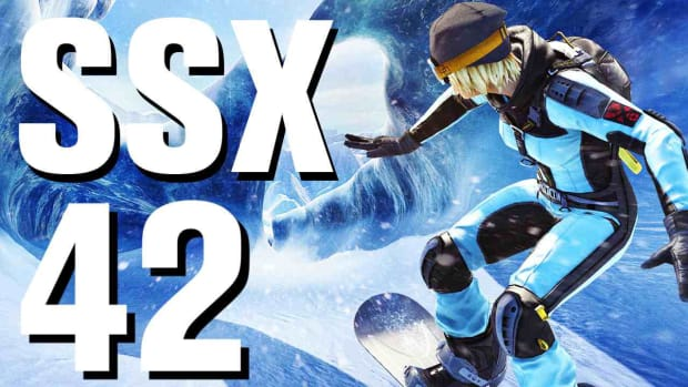 ZP. SSX Walkthrough Part 42 - Jack-Knife - Ty - New Zealand Promo Image