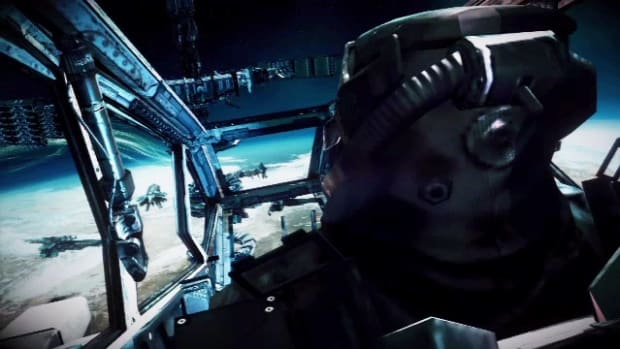 D. Killzone 3 Walkthrough / Interception - Part 4: Fleet Battle Promo Image