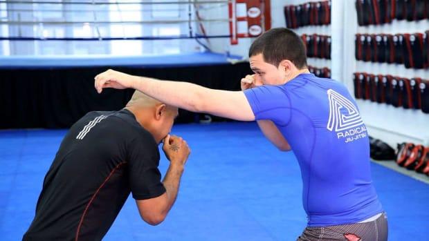 K. 6 Slip Basics in MMA Fighting Promo Image
