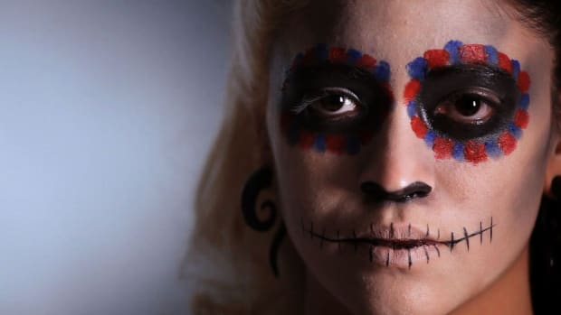 U. How to Add Embellishments to Day of the Dead Makeup Promo Image