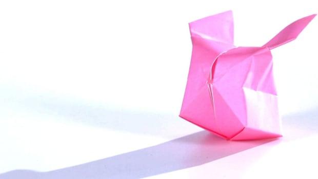 V. How to Make an Origami Bunny Balloon Promo Image