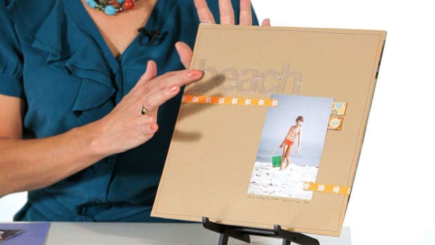 F. How to Design a Scrapbook Layout Promo Image