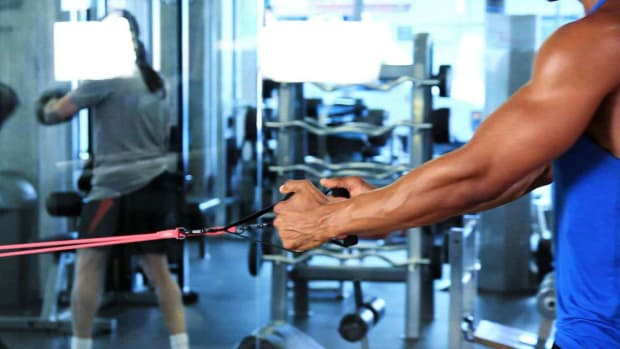 R. How to Do Resistance Band Exercises at the Gym Promo Image