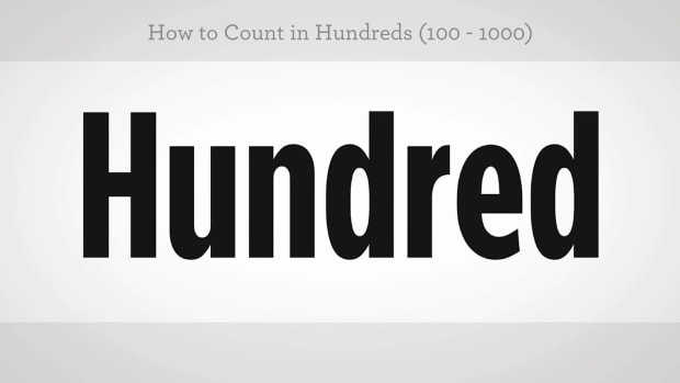 ZZC. How to Count in Hundreds in Mandarin Chinese Promo Image