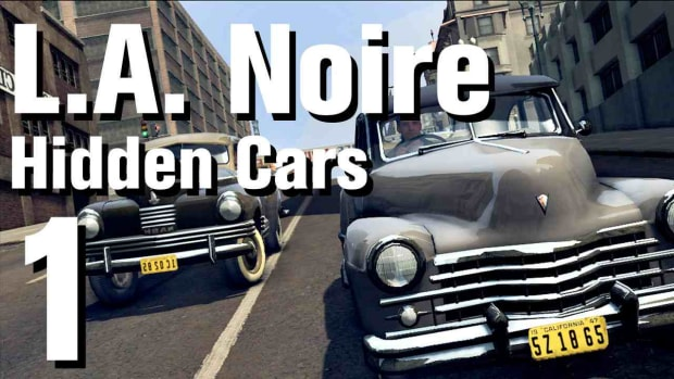 "A. L.A. Noire Walkthrough Hidden Cars 01: ""Cadillac Town Car"" Promo Image"