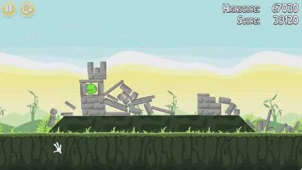 E. Angry Birds Level 2-5 Walkthrough Promo Image