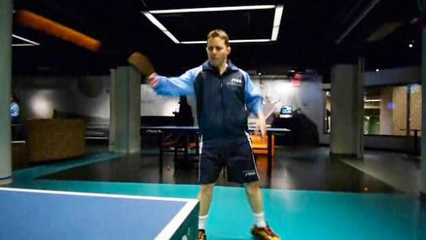 J. How to Do a Backhand Loop in Table Tennis aka Ping Pong Promo Image