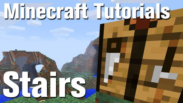 ZZ. Minecraft Tutorial: How to Make Stairs in Minecraft Promo Image
