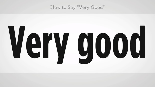 "ZZW. How to Say ""Very Good"" in Mandarin Chinese Promo Image"