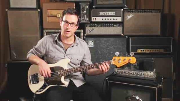 ZZZV. How to Play an E Minor Triad on Bass Guitar Promo Image