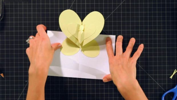 Q. How to Make a Butterfly Pop-Up Card Promo Image