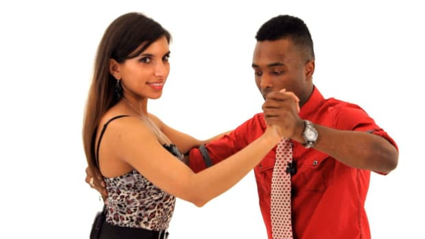 T. How to Lead Properly in Bachata Dance Promo Image