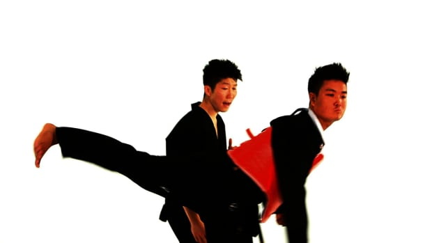 ZI. How to Do the Defense against Back Kick 1 in Taekwondo Promo Image