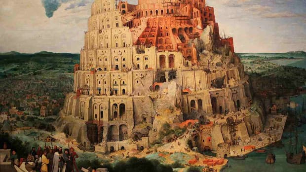 E. The Tower of Babel Bible Story Promo Image