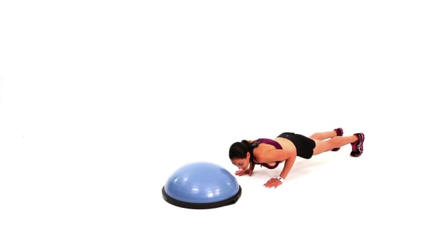 ZT. How to Do Bosu Ball Combo Workout #2 Promo Image