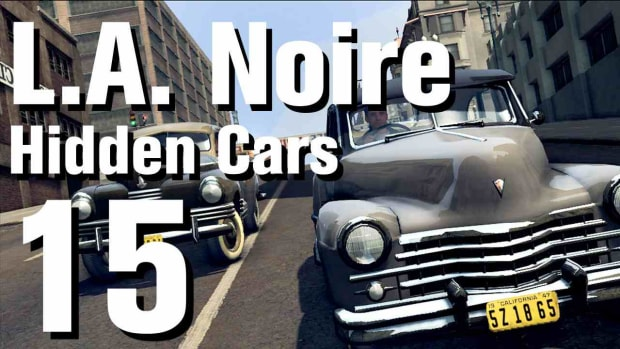 "O. L.A. Noire Walkthrough Hidden Cars 15: ""Ford H Boy"" Promo Image"