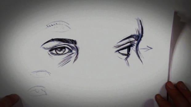 D. How to Draw a Realistic-Looking Eye Promo Image