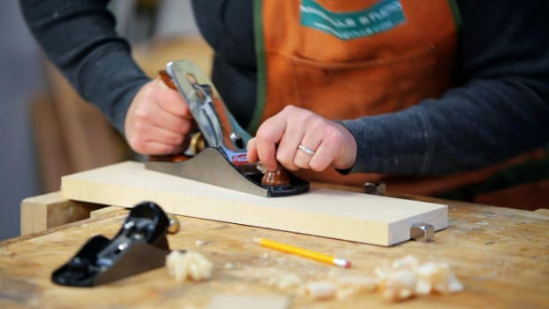 A. How to Use a Woodworking Smoothing Plane Promo Image