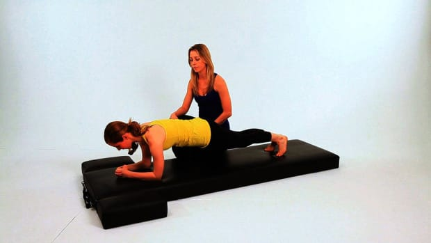 ZW. How to Do Serratus Push-Ups in Pilates Promo Image