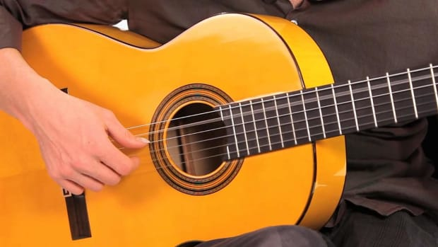 T. Flamenco Guitar Techniques: How to Play Arpeggio Sextuplets Promo Image