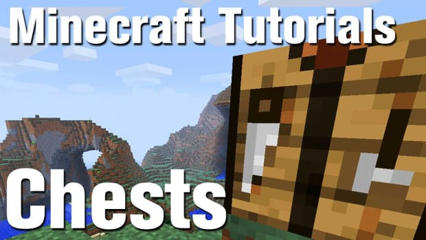 ZH. Minecraft Tutorial: How to Make a chest in Minecraft Promo Image
