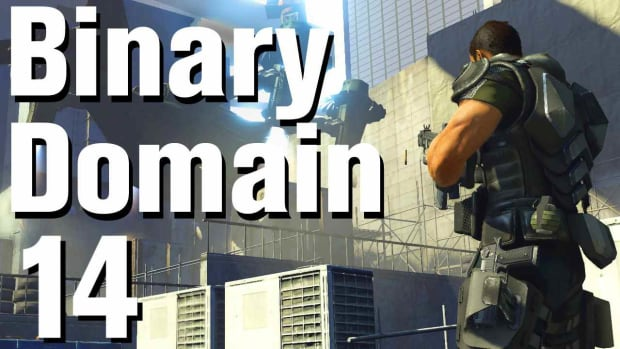 N. Binary Domain Walkthrough Part 14 - Mifune's Room Promo Image