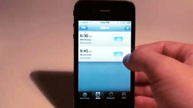A. How to Set Your iPhone Alarm Clock Promo Image