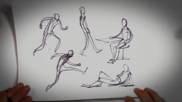 I. 6 Tips about Gesture Drawing Promo Image