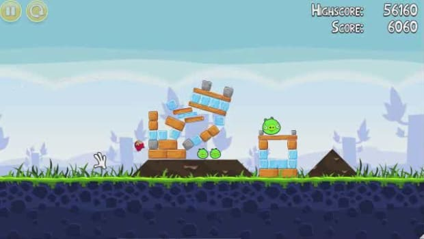 K. Angry Birds Level 1-11 Walkthrough Promo Image