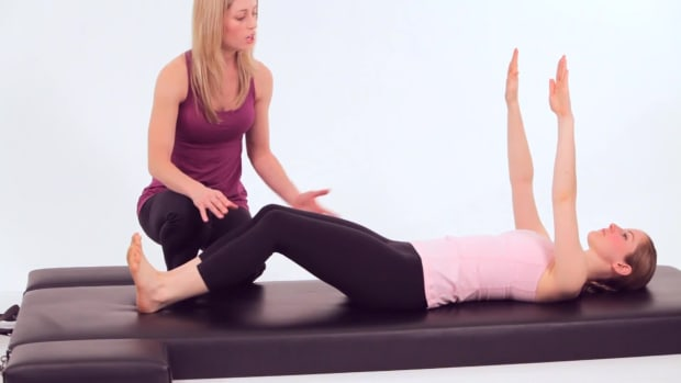 ZE. How to Do a Roll Up in Pilates Promo Image