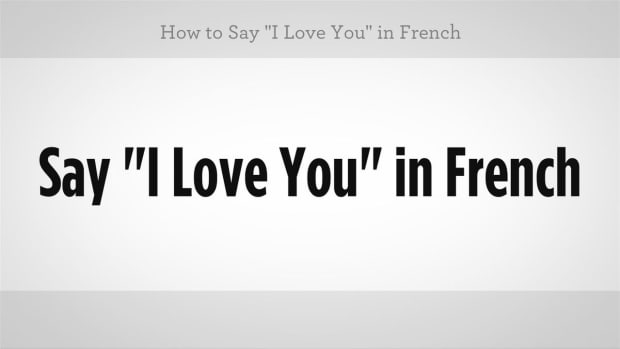 "F. How to Say ""I Love You"" in French Promo Image"