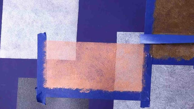M. How to Paint Overlapping Squares on a Wall Promo Image