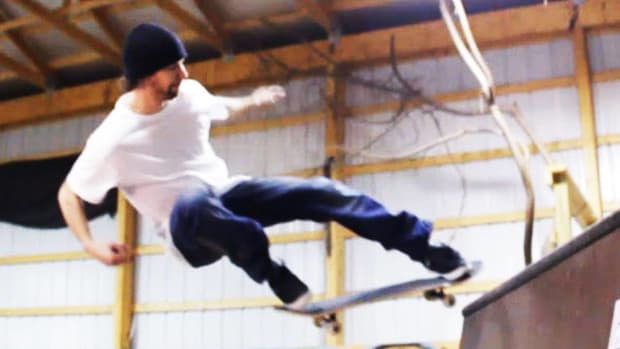 ZD. How to Do an Ollie Fakie Skateboarding Ramp Trick Promo Image