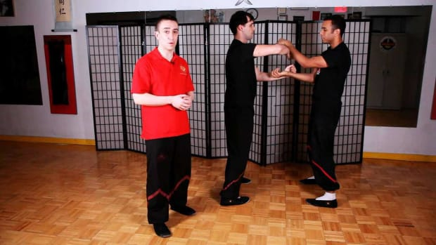 ZQ. How to Do Seung Chi Sau aka Double Arm Chi Sau in Wing Chun Promo Image