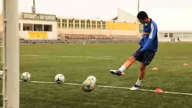 E. How to Do Shooting Drills for Soccer Promo Image