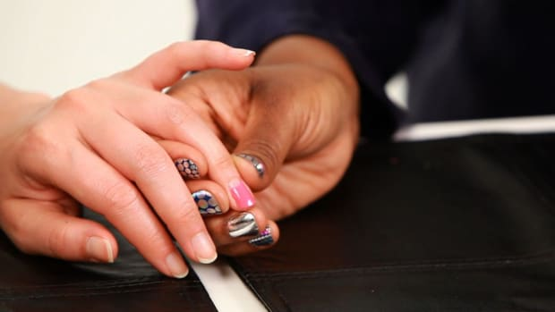 S. How to Do a Reverse French Manicure Promo Image