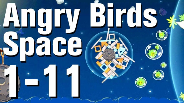 K. Angry Birds: Space Walkthrough Level 1-11 Promo Image