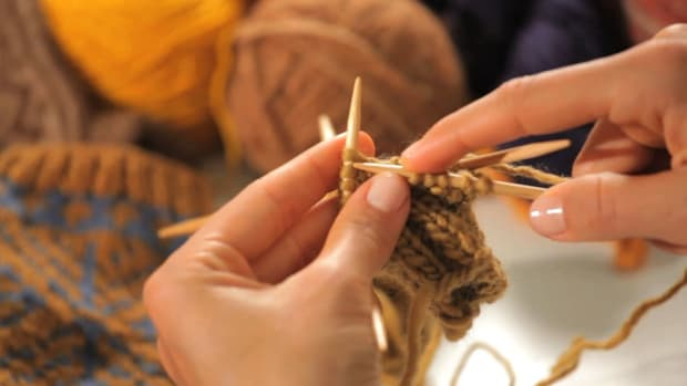 A. How to Join Yarn while Knitting in the Round Promo Image
