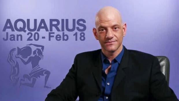 W. Love & Career Prospects for the Aquarius Horoscope Sign Promo Image