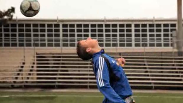 H. How to Do Flick-On Header Drills for Soccer Promo Image