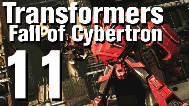 K. Transformers Fall of Cybertron Walkthrough Part 11 - Chapter 4 Promo Image
