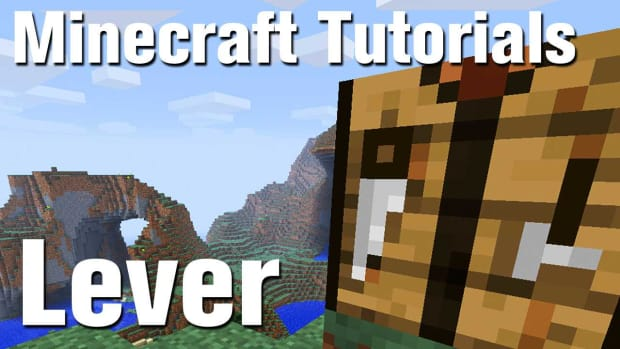 ZZC. Minecraft Tutorial: How to Make a Lever in Minecraft Promo Image