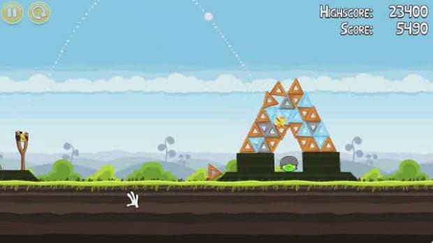 Q. Angry Birds Level 4-17 Walkthrough Promo Image
