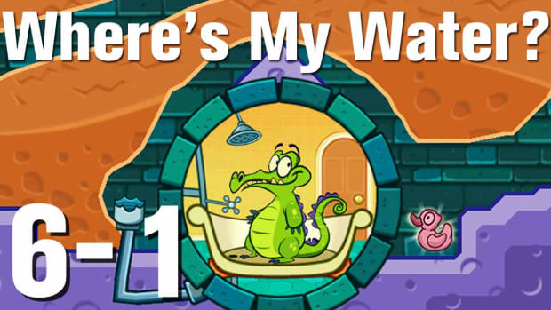 ZZZW. Where's My Water Walkthrough Level 6-1 Promo Image