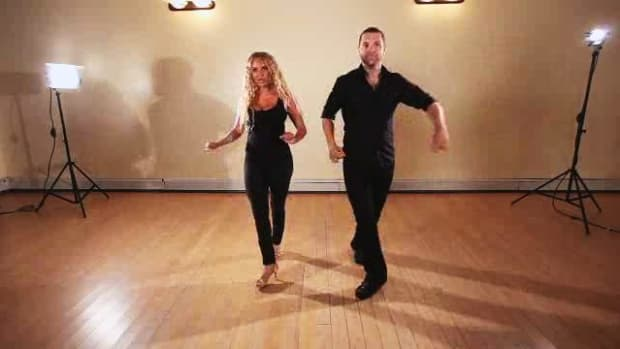 Y. How to Do a Left Turn Styled in Salsa Dancing Promo Image