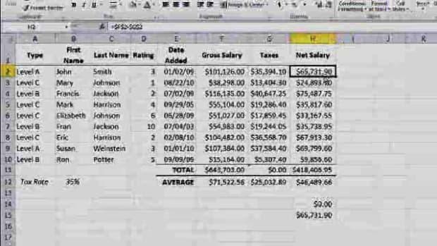 S. Absolute vs. Relative Formulas in Excel Promo Image