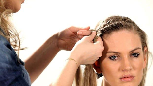 F. How to Do a Fishtail Headband Promo Image