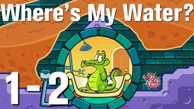 B. Where's My Water Walkthrough Level 1-2 Promo Image