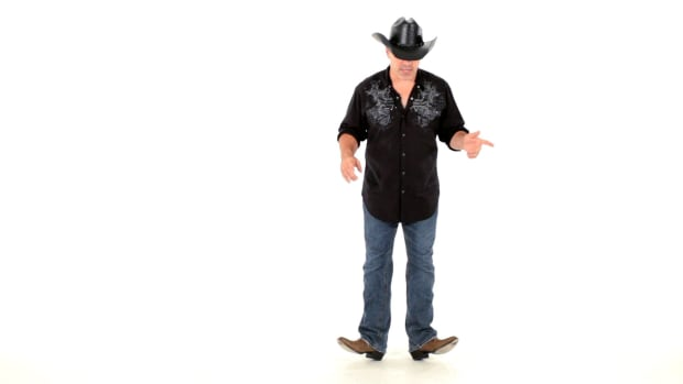 M. How to Do Basic Line Dancing Heel Movements Promo Image